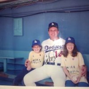 Stacie, Mike Scioscia and I, Circa 1990