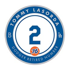 Tommy Lasorda Pin
