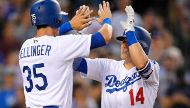 Cody Bellinger and Kike Hernandz