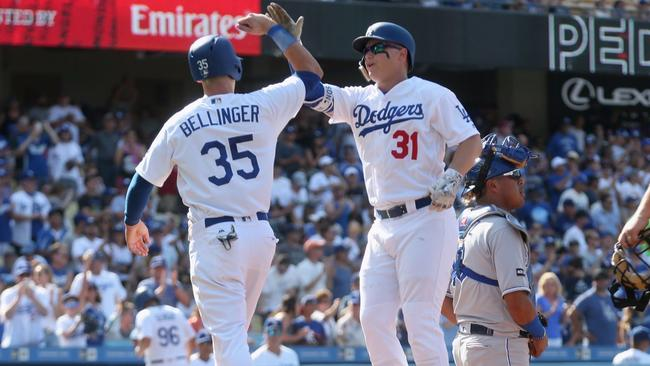 Cody Bellinger and Joc Pederson