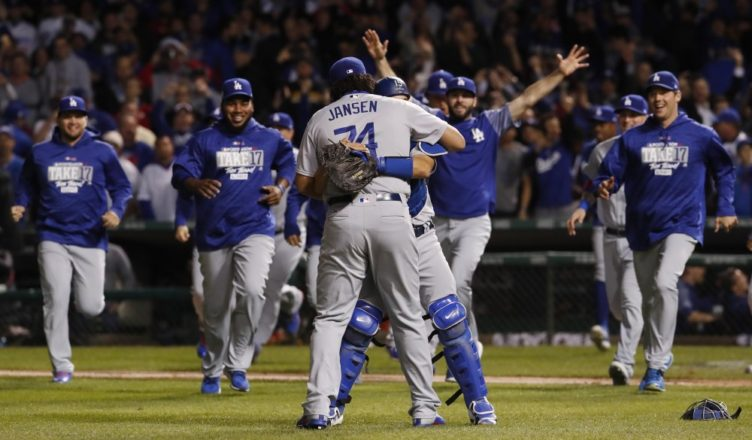 Dodgers Win NLCS