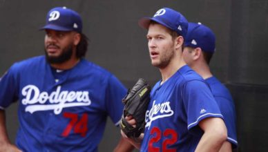 Clayton Kershaw and Kenley Jansen