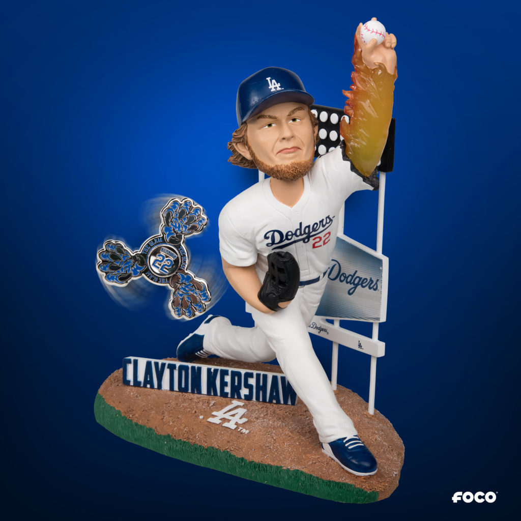 Clayton Kershaw custom Bobblehead from Foco
