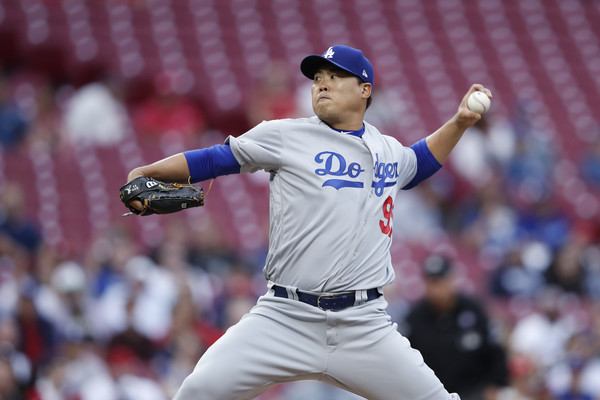 cb88be2c7 The Dodgers and Korean southpaw Hyun-jin Ryu kept rolling on Sunday as the  Husky left hander tossed another seven shutout frames helping the Dodgers  to an ...