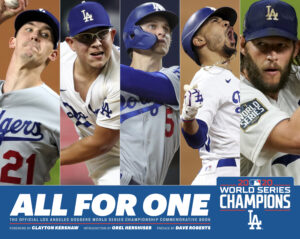 Dodgers World Series Book